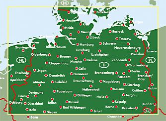 karte deutschland nord Karten Tipps Deutschland