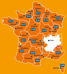 Elsass Karte Frankreich.Karten Tipps Frankreich