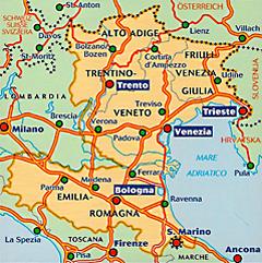 Sudtirol Karte Osterreich Italien.Karten Tipps Italien